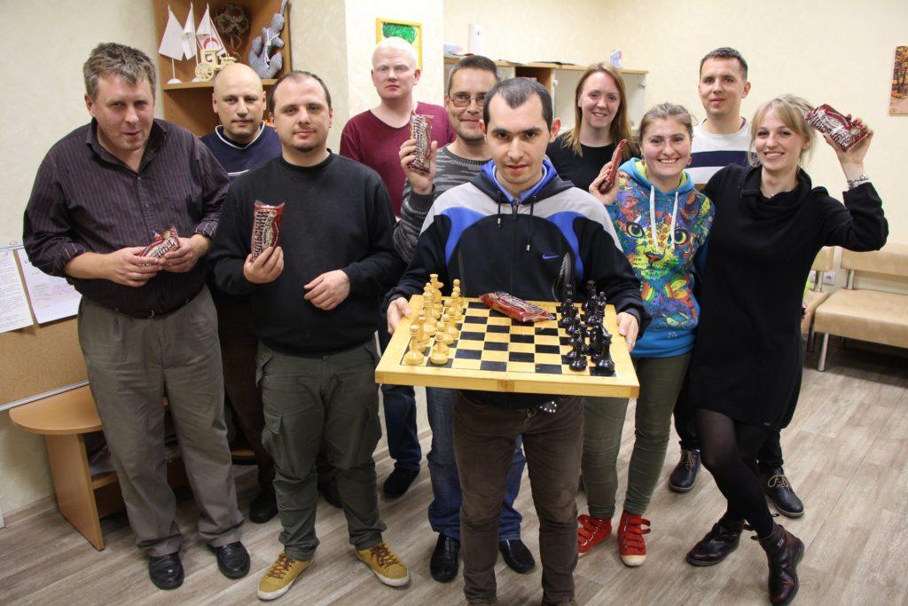 Неделя психического здоровья: Владислав - победитель шахматного турнира