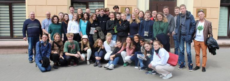 Делегация из Дании посетила Центр «Открытый дом»