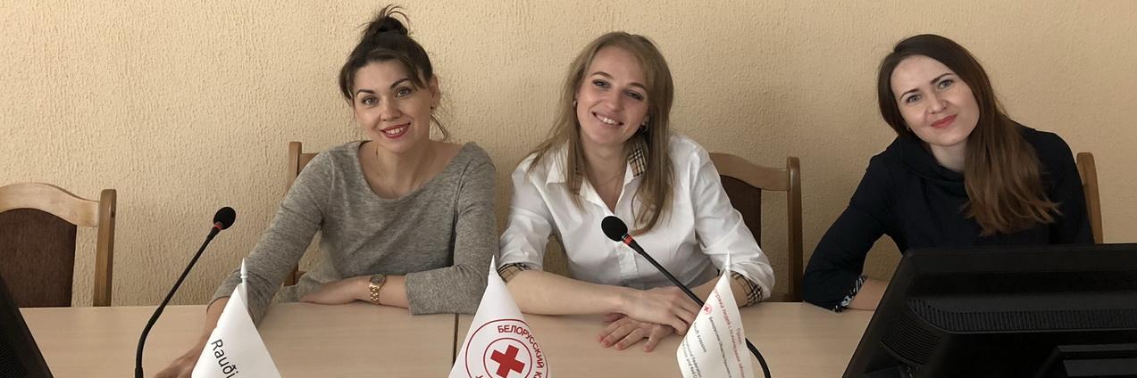 Ирина Мялик, Мария Жоровина, Янина Иванчик