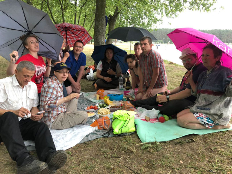 Спортивные игры: на Цнянском водохранилище