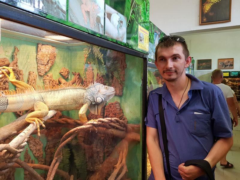 Минский зоопарк: Александр Шурхай