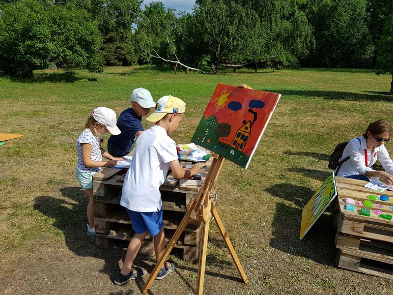 Фестиваль в Ботаничеком Саду: мастер-класс по рисованию