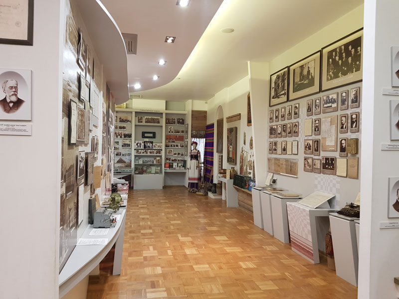 НАН Беларуси: залы экспозиции