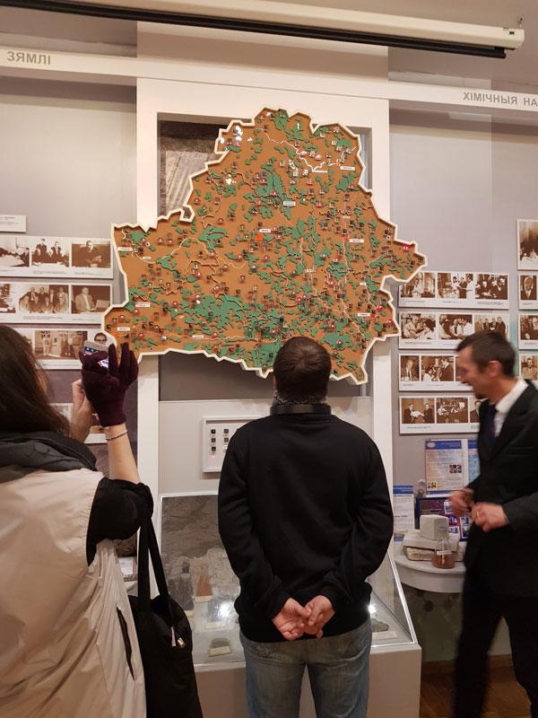 Карта полезных ископаемых Беларуси