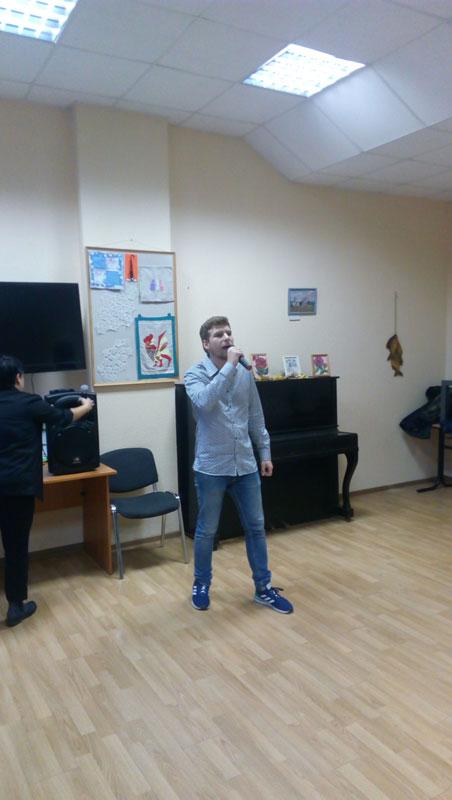 Волонтёр Крикунов Богдан