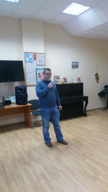 Творческий вечер: Александр Зимелис читает стихи