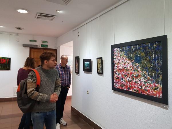 Гости центра посетили выставку
