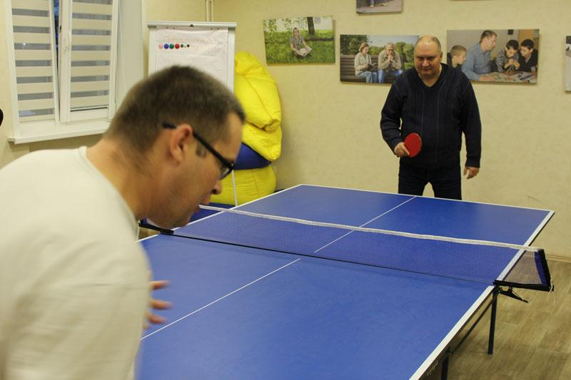 Теннисный турнир: игра