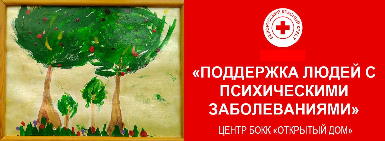 """Проект """"Поддержка людей с психическими заболеваниями"""" Центр БОКК """"Открытый дом"""""""