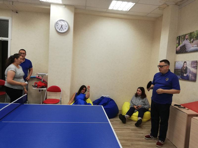 Интересные мероприятия: игры теннисного турнира