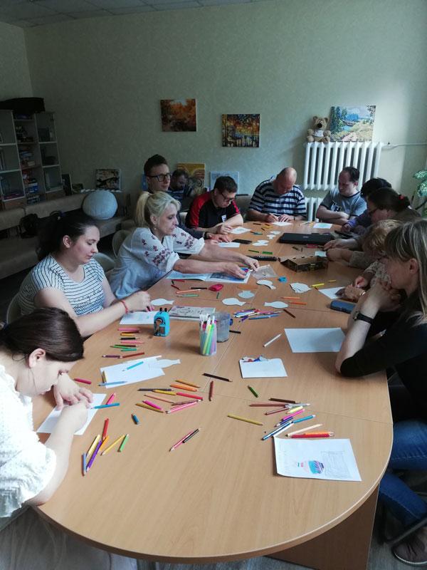 Развивающие занятия: арт-терапия