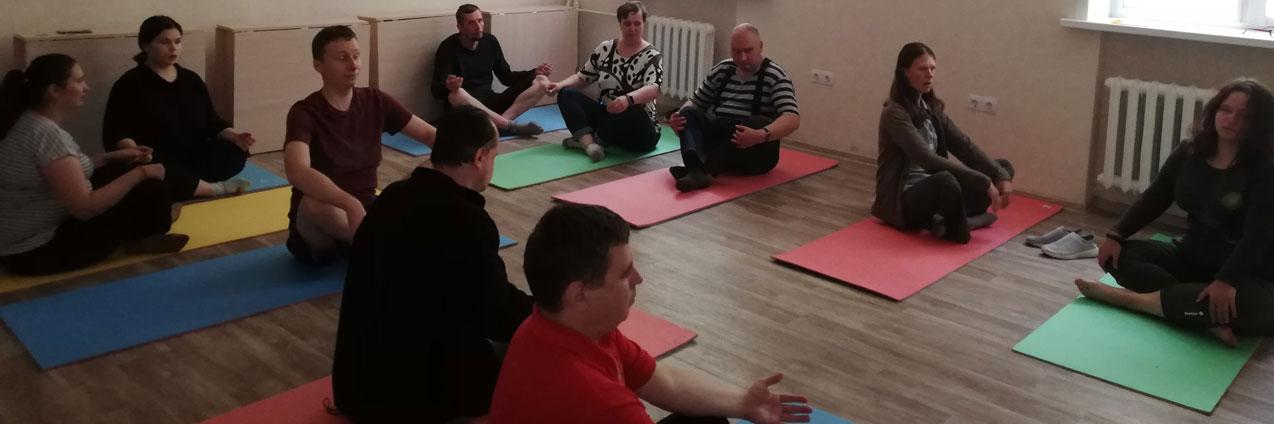 В Центре БОКК «Открытый дом» прошли занятия по Йоге и Арт-терапии