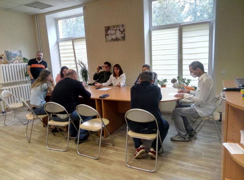 Психологическая сессия М+Ж: Гости Центра на занятии